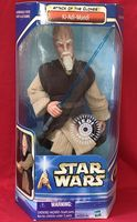 "Star Wars Saga AOTC: Ki-Adi-Mundi - 12"" Action Figure - Sealed In Box"